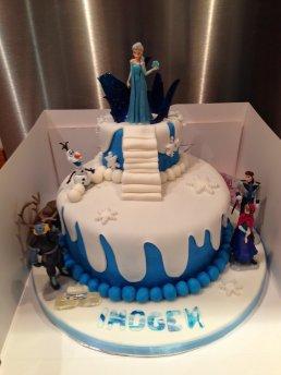 Superb Frozen Birthday Cake Gems Cakes Birthday Cards Printable Benkemecafe Filternl