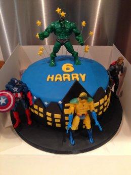 Enjoyable Incredible Hulk Gems Cakes Personalised Birthday Cards Paralily Jamesorg